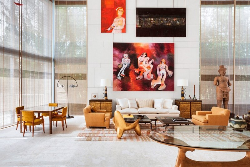 Art-Filled Home for Modern Luxury by Interior Designer Peter Marino peter marino Art-Filled Home for Modern Luxury by Interior Designer Peter Marino Art Filled Home for Modern Luxury by Interior Designer Peter Marino 3