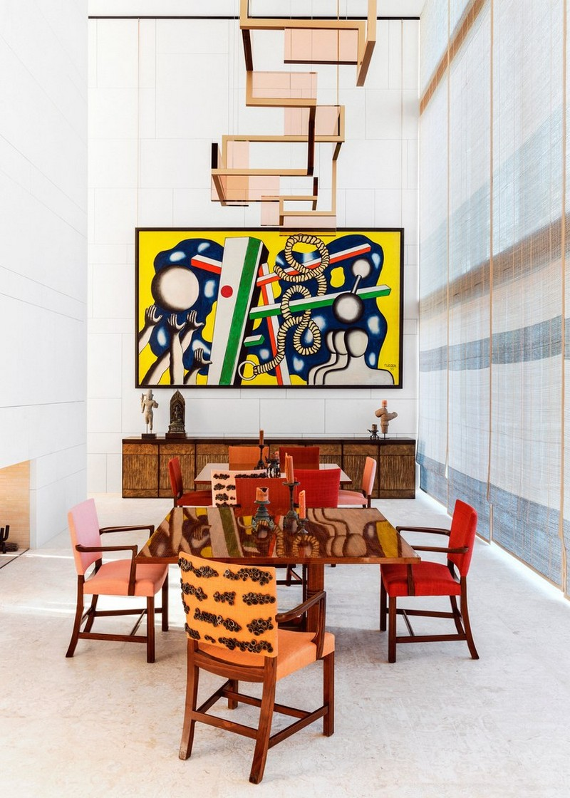 Art-Filled Home for Modern Luxury by Interior Designer Peter Marino peter marino Art-Filled Home for Modern Luxury by Interior Designer Peter Marino Art Filled Home for Modern Luxury by Interior Designer Peter Marino 5