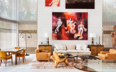 peter marino Art-Filled Home for Modern Luxury by Interior Designer Peter Marino feature 4 480x300