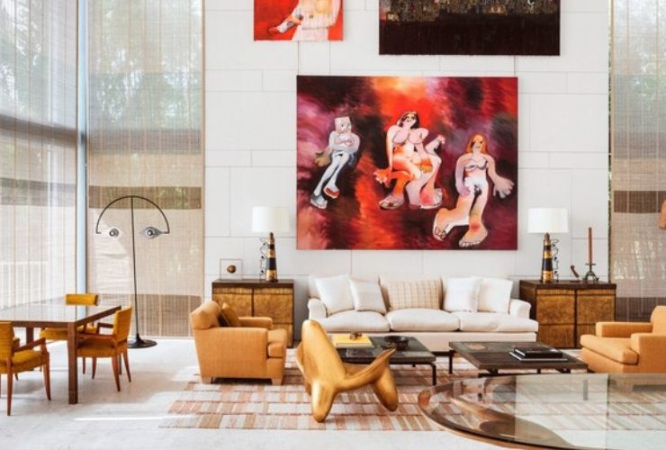 peter marino Art-Filled Home for Modern Luxury by Interior Designer Peter Marino feature 4 740x500