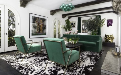 interior design Discover Usher's Spanish Villa in L.A. and Its Bold Interior Design featured 1 480x300