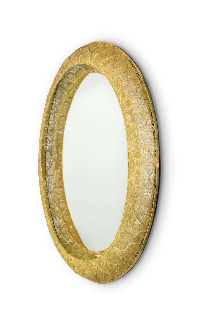 Embracing The Past Through Contemporary Design: Ring Filigree Mirror modern design Embracing The Past Through Modern Design: Ring Filigree Mirror Boca do Lobos Novelty Reinvents The Ancient An Art