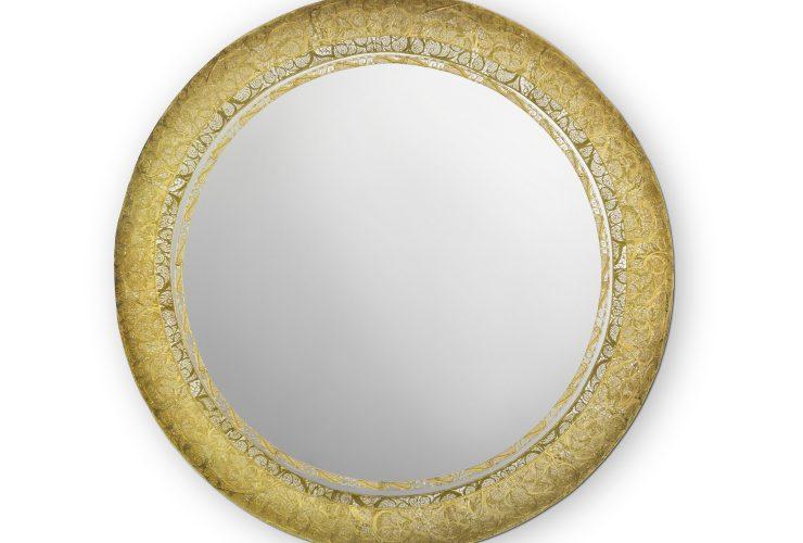 round mirror Boca do Lobo's New Round Mirror Reinvents The Art of Filigree feature 2 740x500