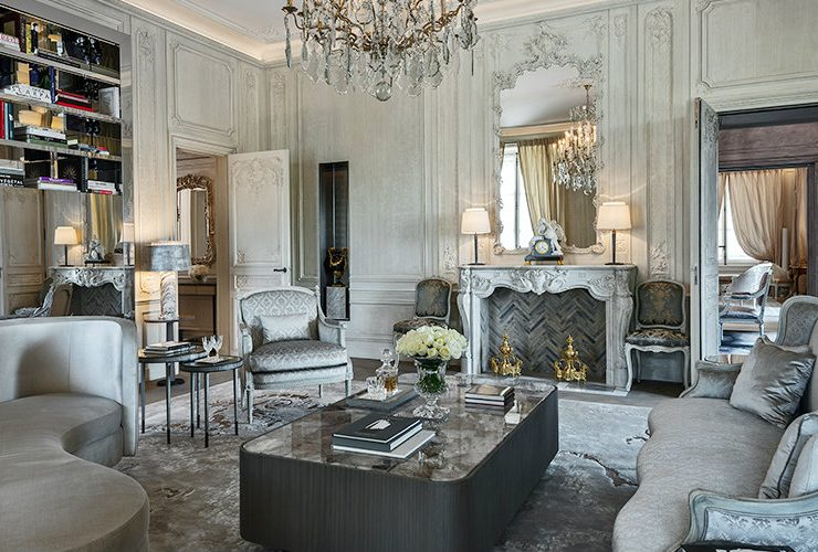 karl lagerfeld Inside Karl Lagerfeld's Parisian Suites at Hôtel de Crillon featured 740x500