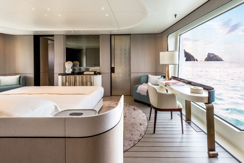 The New Azimut - A Luxury Yacht Designed by Achille Salvagni achille salvagni The New Azimut – A Luxury Yacht Designed by Achille Salvagni The new Azimut Grande An Ultra Luxury Yacht Designed by Achille Salvagni 3
