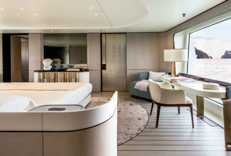 achille salvagni The New Azimut – A Luxury Yacht Designed by Achille Salvagni The new Azimut Grande An Ultra Luxury Yacht Designed by Achille Salvagni featured 740x500