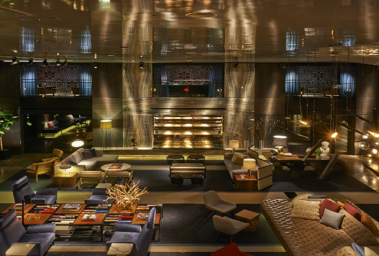 hotel paramount Hotel Paramount New York' Inspiring Design Project by Philippe Starck 58 740x500