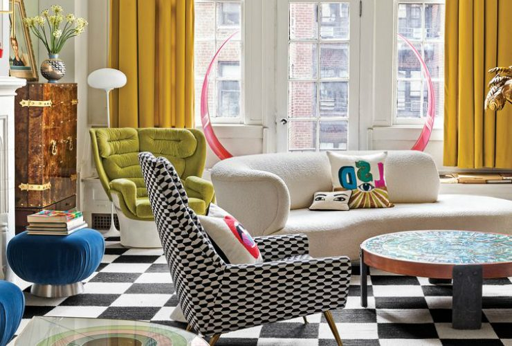jonathan adler Take A Peek Inside Jonathan Adler's Incredible Home Renovation Take A Peek Inside JonathanAdlers Incredible Home Renovation feature 1 740x500