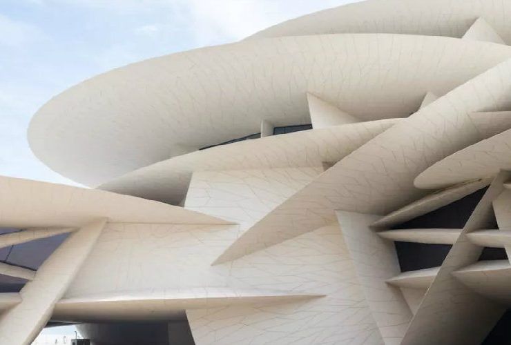 national museum of qatar National Museum of Qatar – An Architecture Masterpiece by Jean Nouvel feat 740x500