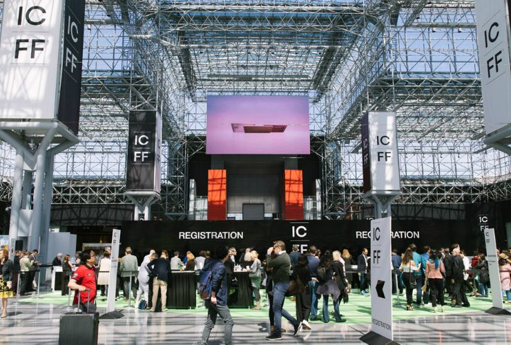 icff new york 2019 ICFF New York 2019 – Discover The Design Event ICFF 2019 740x500