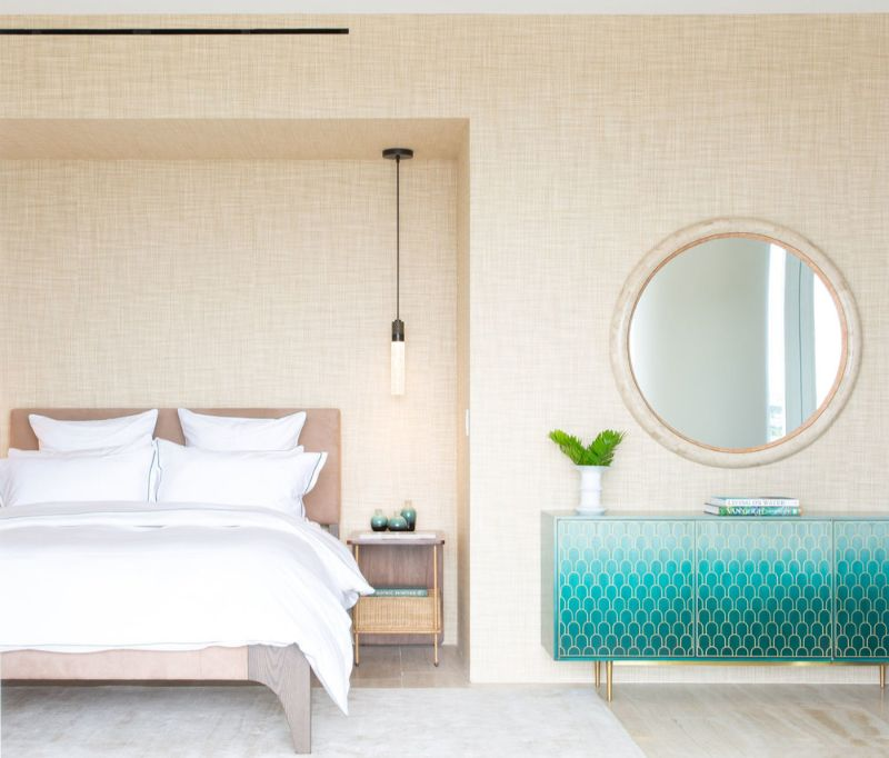 A Summer Breeze Inside This Miami's Penthouse by ABH Interiors abh interiors A Summer Breeze Inside This Miami's Penthouse by ABH Interiors Surf Club GBR North