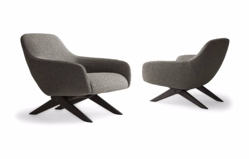 modern chair 10 Modern Chair Ideas For A Contemporary Interior Design armchair marlon poliform