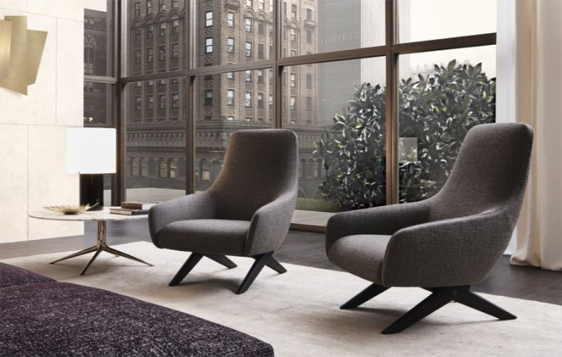 modern chair 10 Modern Chair Ideas For A Contemporary Interior Design armchair poliform