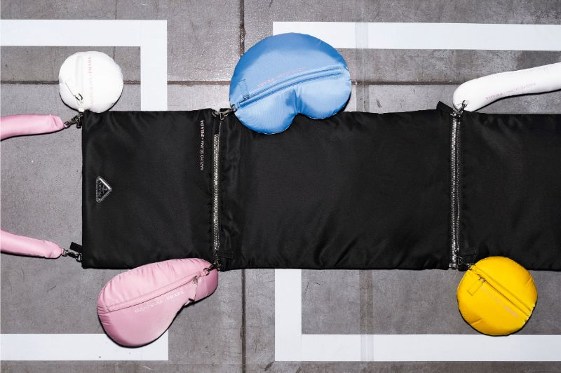 prada Exclusive Prada 's Bags Designed by Liz Miller, Kazuyo Sejima and Boeri the envelope and the yoke prada wearable luggage liz diller dsr  dezeen 2364 col 22