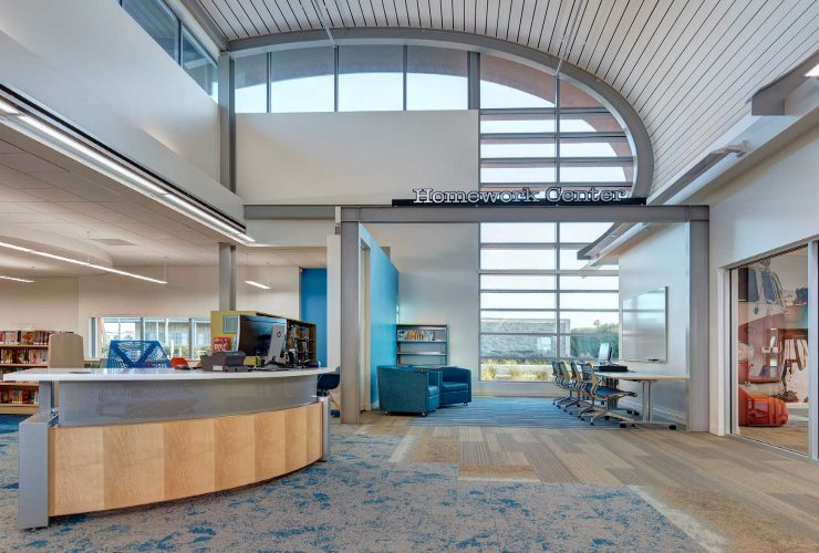 delawie architects Delawie Architects' Education Projects: The Imperial Beach Library featuredblblog 740x500