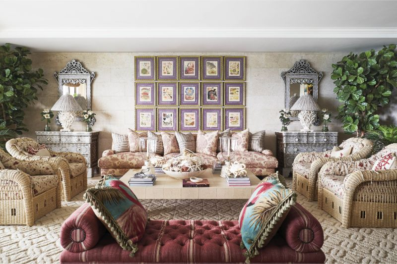 The Symbol of Maximalism: Inside A Miami's Apartment by Sig Bergamin sig bergamin The Symbol of Maximalism: Inside A Miami's Apartment by Sig Bergamin 1 2