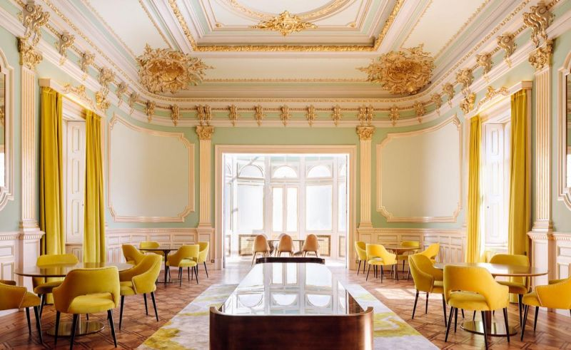 The New Luxury Filled Modern Hotel In Porto modern hotel The New Luxury Filled Modern Hotel In Porto Vila Foz in Porto A Faded Stately Home Transformed in a Hotel