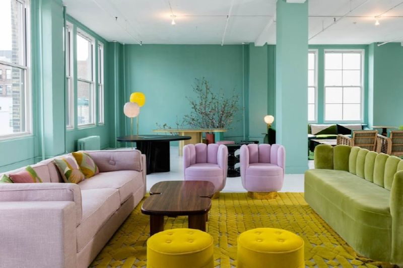 Sunny Inspirations - Honey Yellow Interior Design Trends interior design trends Sunny Inspirations – Honey Yellow Interior Design Trends Sunny Inspirations Honey Yellow and Round Shaped Trends 11