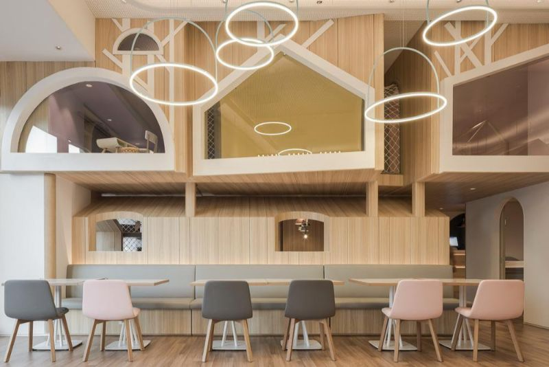 Vitaland Kid Restaurant - A Familiar Concept By Golucci Architects golucci architects Vitaland Kid Restaurant – A Familiar Concept By Golucci Architects Vitaland Kid Restaurant A Familiar Concept By Golucci Architects 1