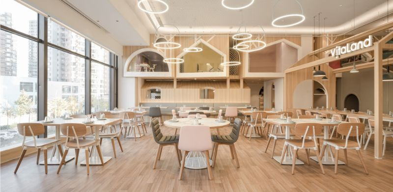 """Vitaland Kid Restaurant"" - A Familiar Concept By Golucci Architects golucci architects Vitaland Kid Restaurant – A Familiar Concept By Golucci Architects Vitaland Kid Restaurant A Familiar Concept By Golucci Architects 3"