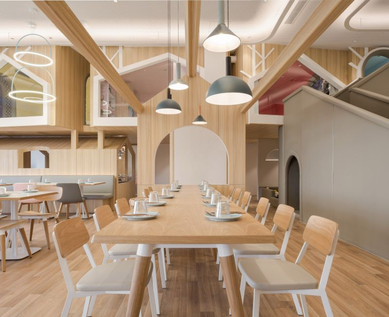 """Vitaland Kid Restaurant"" - A Familiar Concept By Golucci Architects golucci architects Vitaland Kid Restaurant – A Familiar Concept By Golucci Architects Vitaland Kid Restaurant A Familiar Concept By Golucci Architects 4"