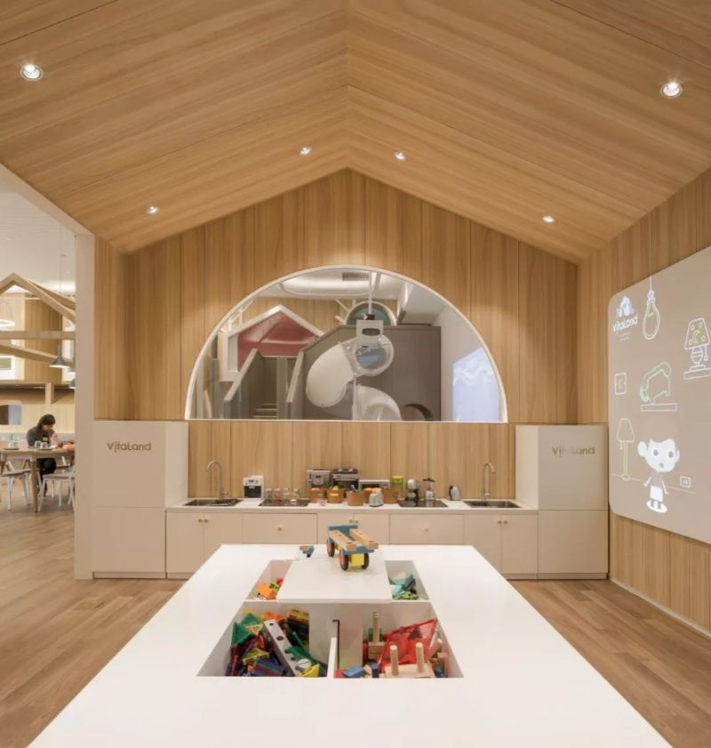 """Vitaland Kid Restaurant"" - A Familiar Concept By Golucci Architects golucci architects Vitaland Kid Restaurant – A Familiar Concept By Golucci Architects Vitaland Kid Restaurant A Familiar Concept By Golucci Architects 9"