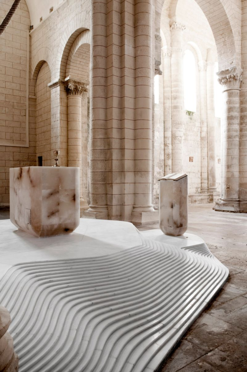 Architectural Masterpiece: St. Hilaire Church By Mathieu Lehanneur mathieu lehanneur Architectural Masterpiece: St. Hilaire Church By Mathieu Lehanneur Architectural Masterpiece St