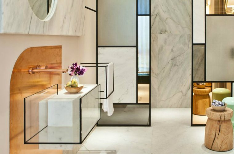 modern bathrooms Modern Bathrooms With The Most Aesthetically Pleasing Design Bathrooms With The Most Aesthetically Pleasing Design feature 1 760x500 boca do lobo blog Boca do Lobo Blog Bathrooms With The Most Aesthetically Pleasing Design feature 1 760x500