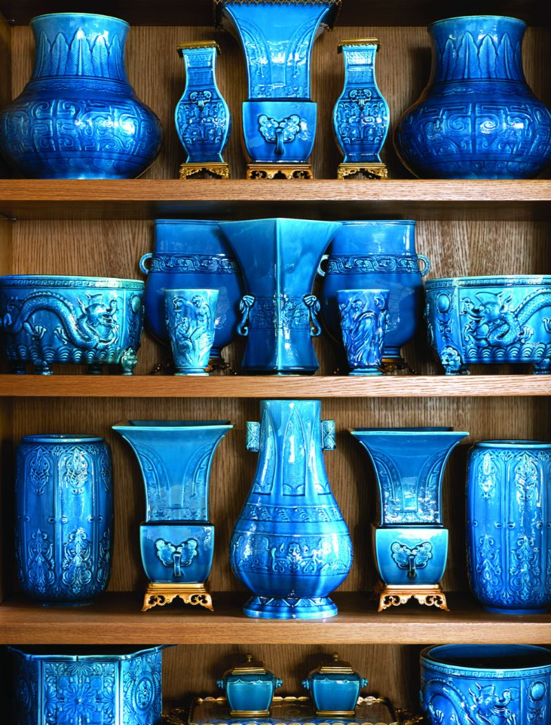Peter Marino's Passion For Porcelain On Full Display in His Home peter marino Peter Marino's Passion For Porcelain On Full Display in His Home Marinos Passion For Porcelain On Full Display in His Home 12