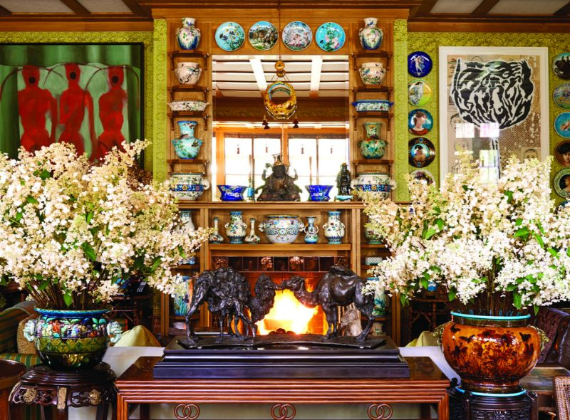 Peter Marino's Passion For Porcelain On Full Display in His Home peter marino Peter Marino's Passion For Porcelain On Full Display in His Home Marinos Passion For Porcelain On Full Display in His Home 5