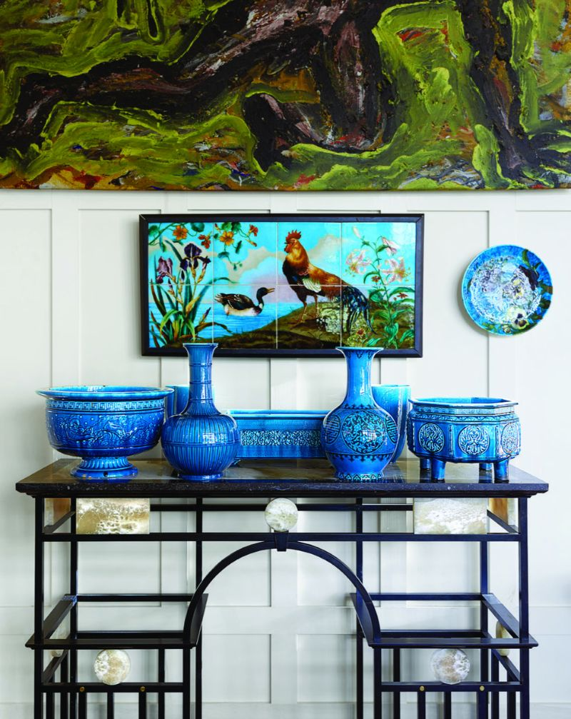 Peter Marino's Passion For Porcelain On Full Display in His Home peter marino Peter Marino's Passion For Porcelain On Full Display in His Home Marinos Passion For Porcelain On Full Display in His Home 6