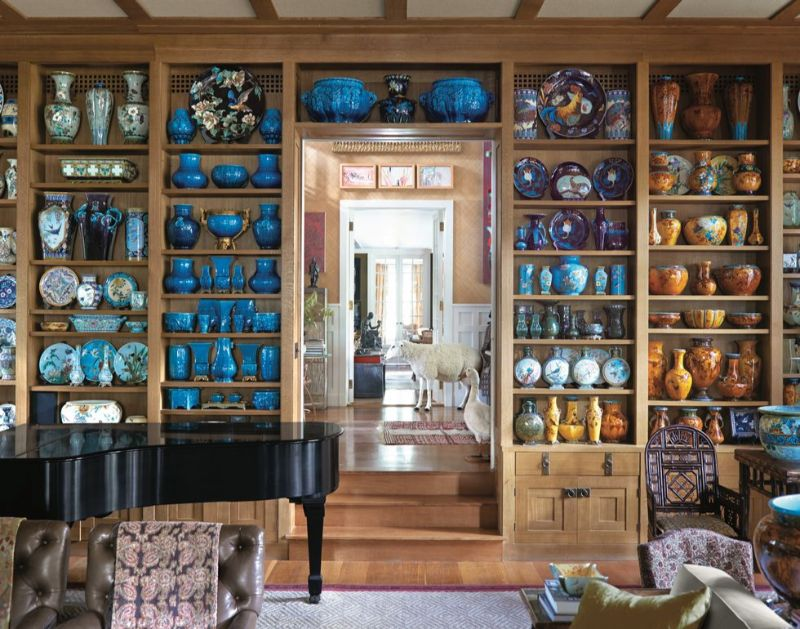 Peter Marino's Passion For Porcelain On Full Display in His Home peter marino Peter Marino's Passion For Porcelain On Full Display in His Home Marinos Passion For Porcelain On Full Display in His Home 7