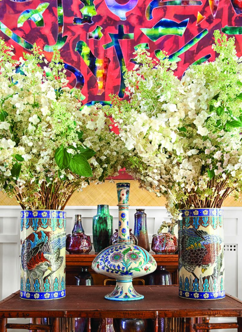 Peter Marino's Passion For Porcelain On Full Display in His Home peter marino Peter Marino's Passion For Porcelain On Full Display in His Home Marinos Passion For Porcelain On Full Display in His Home 8