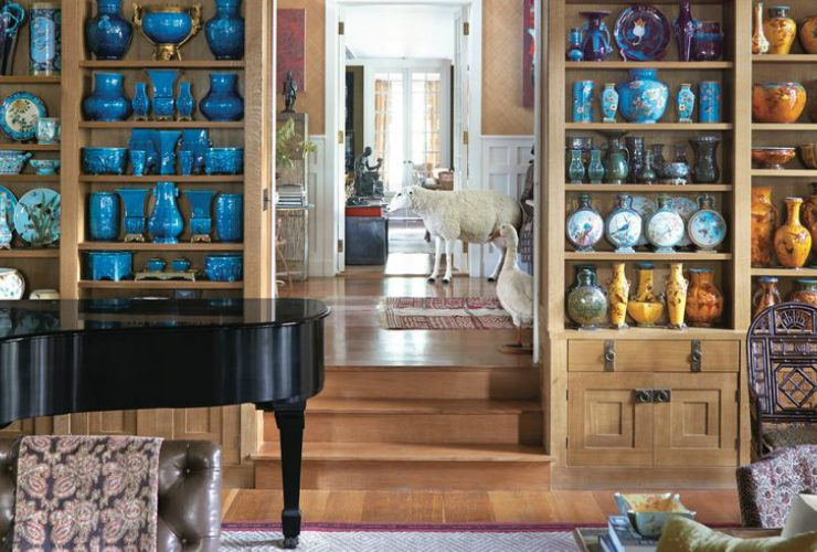 peter marino Peter Marino's Passion For Porcelain On Full Display in His Home Marinos Passion For Porcelain On Full Display in His Home feature 740x500