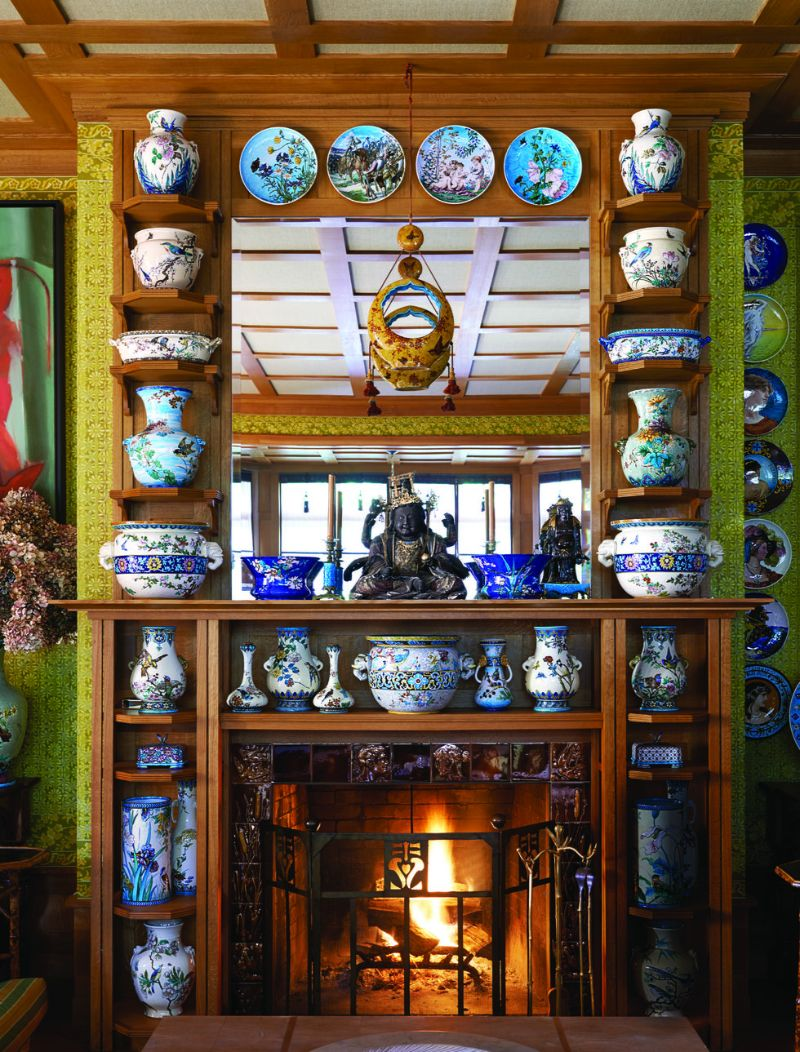 Peter Marino's Passion For Porcelain On Full Display in His Home peter marino Peter Marino's Passion For Porcelain On Full Display in His Home Marinos Passion For Porcelain On Full Display in His Home