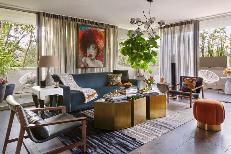 home design A Fearless LA Home Design That Pays Homage To The '60s A Fearless LA Home That Pays Homage To The 60s 8