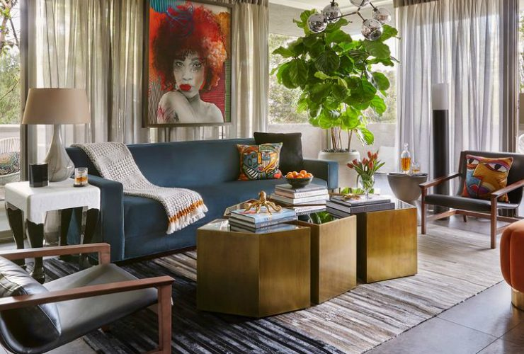home design A Fearless LA Home Design That Pays Homage To The '60s A Fearless LA Home That Pays Homage To The 60s feature 740x500