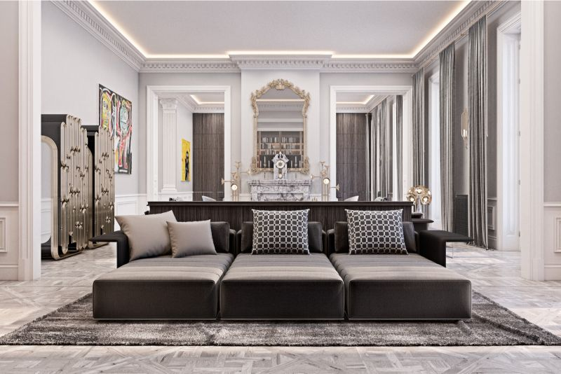 Neutral Tones And Classic Style Inside This Home Design By Diff Studio