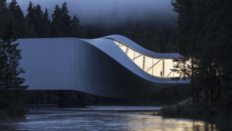 The Twist: A Sculptural Bridge Modern Architectural Building In Norway architectural building The Twist: A Sculptural Bridge Modern Architectural Building In Norway The Twist A Sculptural Bridge Modern Architectural Building In Norway 1