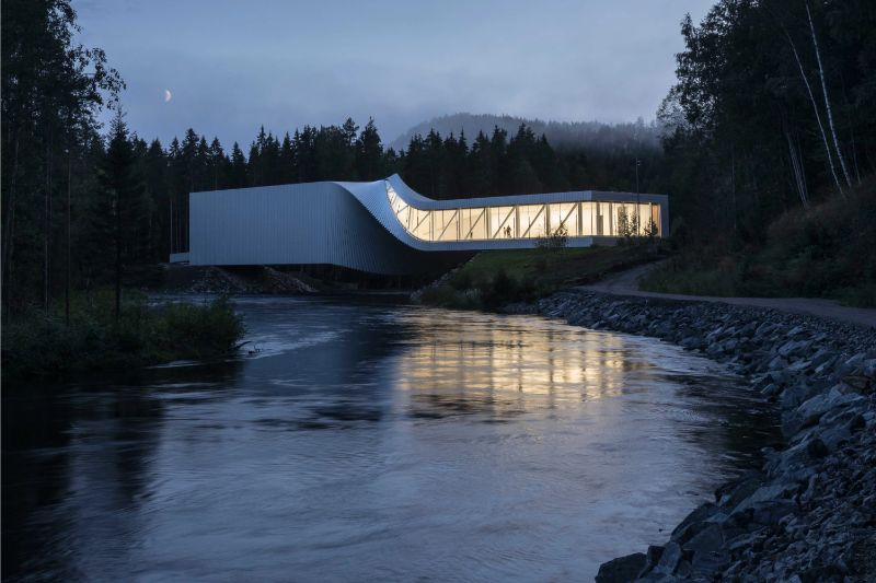 The Twist: A Sculptural Bridge Modern Architectural Building In Norway architectural building The Twist: A Sculptural Bridge Modern Architectural Building In Norway The Twist A Sculptural Bridge Modern Architectural Building In Norway 10