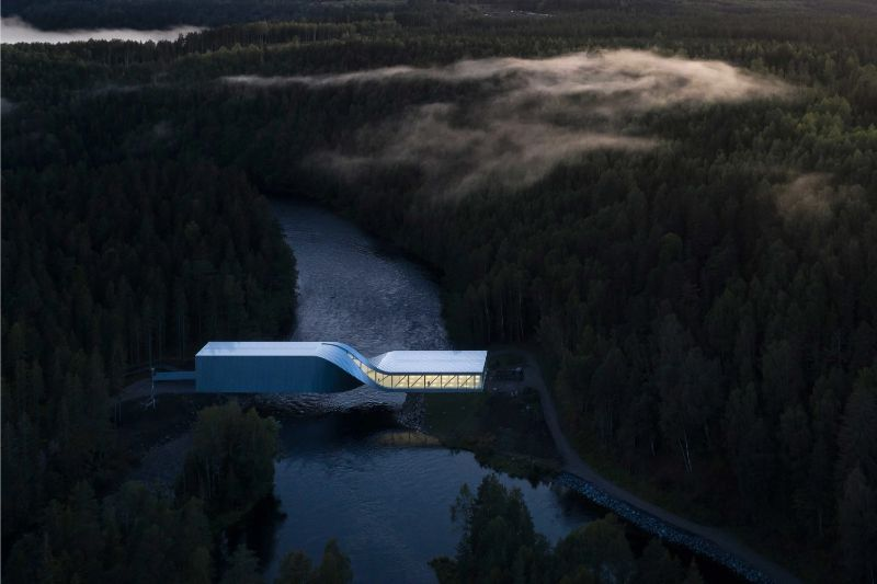 The Twist: A Sculptural Bridge Modern Architectural Building In Norway architectural building The Twist: A Sculptural Bridge Modern Architectural Building In Norway The Twist A Sculptural Bridge Modern Architectural Building In Norway 11