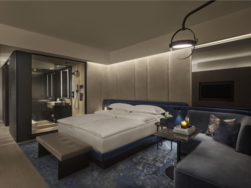 Equinox Hotel in New York: A Modern Design Project By Joyce Wang joyce wang Rockwell Group and Joyce Wang Team Up For Modern Hotel Design Equinox Hotel in New York A Modern Design Project By Joyce Wang 5