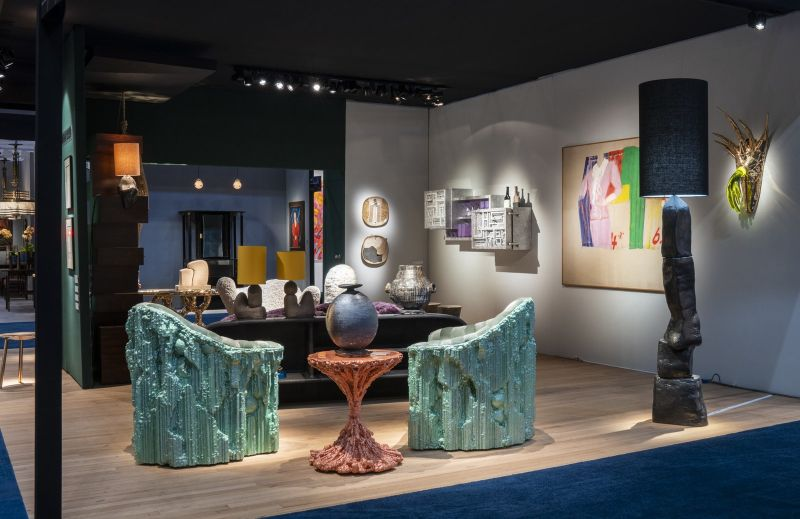 The Best Of Unique Design: Highlights From The Salon Art + Design'19 design event Highlights From The Salon Art+Design'19 – An Immersive Design Event frieda