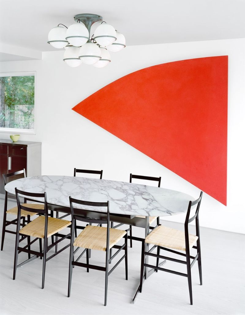 Contemporary Art Is The Inspiration Behind This Hamptons Home (6)
