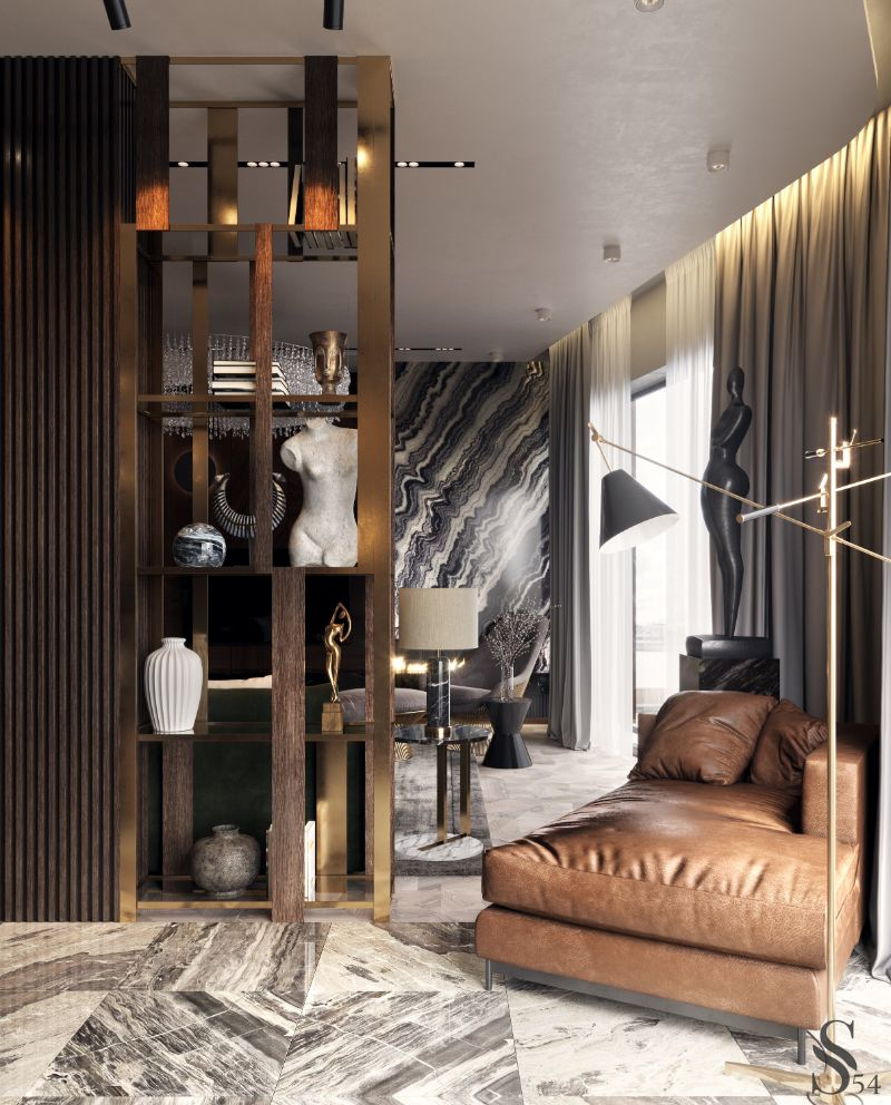 Earth Tones Set The Mood In This Luxury Moscow Apartment (2) moscow apartment Earth Tones Set The Mood In This Luxury Moscow Apartment Earth Tones Set The Mood In This Luxury Moscow Apartment 2