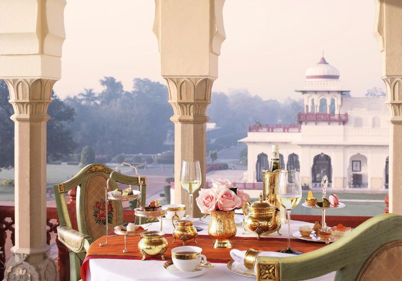 Former Royal Palaces That Were Transformed Into Luxury Hotels luxury hotel Former Royal Palaces That Were Transformed Into Luxury Hotels Rambagh Palace Jaipur India