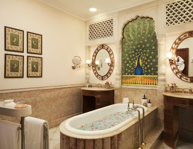 luxury hotel Former Royal Palaces That Were Transformed Into Luxury Hotels Rambagh Palace