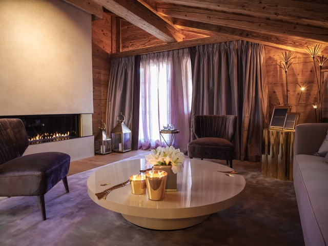 Exclusive Rustic Chalet In The Swiss Montains By Rougemont Interiors (2)