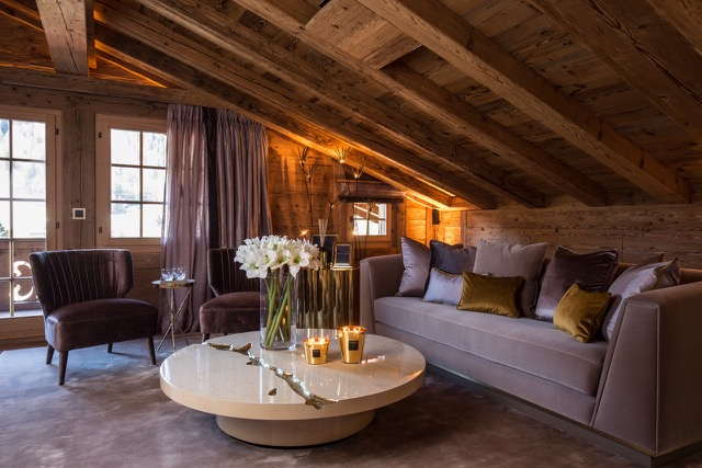 Exclusive Rustic Chalet In The Swiss Montains By Rougemont Interiors (8)