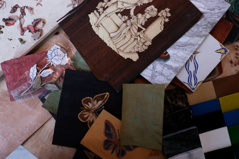 The Wonders Of Craftmanship - Details Of Marquetry (1)